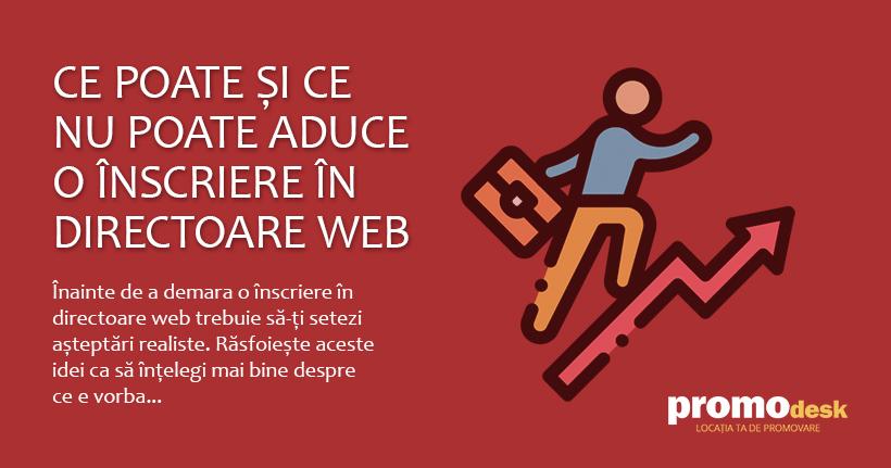 Ce poate si ce nu poate aduce o inscriere in directoare web